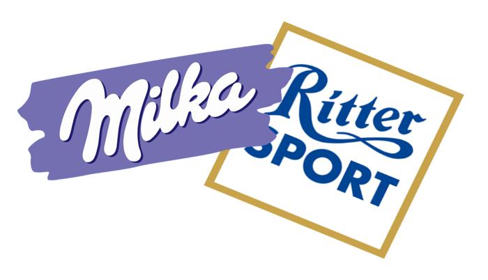 ritter sport & milka