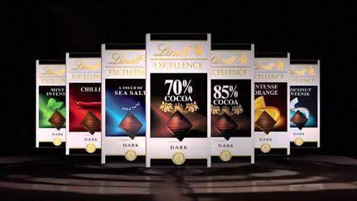 lindt excellence dark chocolate